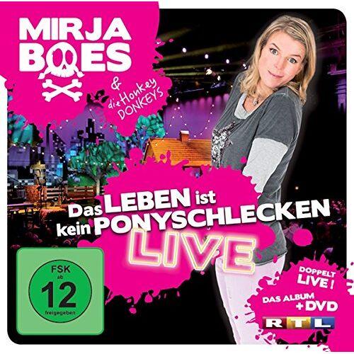 Mirja Boes - Das Leben Ist Kein Ponyschlecken-Live (CD + DVD) - Preis vom 26.01.2021 06:11:22 h