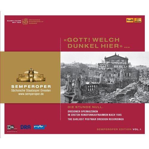 Various - Semperoper Edition Vol.1 - Preis vom 25.01.2021 05:57:21 h
