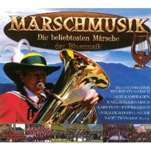 Various - Marschmusik-die Beliebtesten - Preis vom 25.02.2021 06:08:03 h