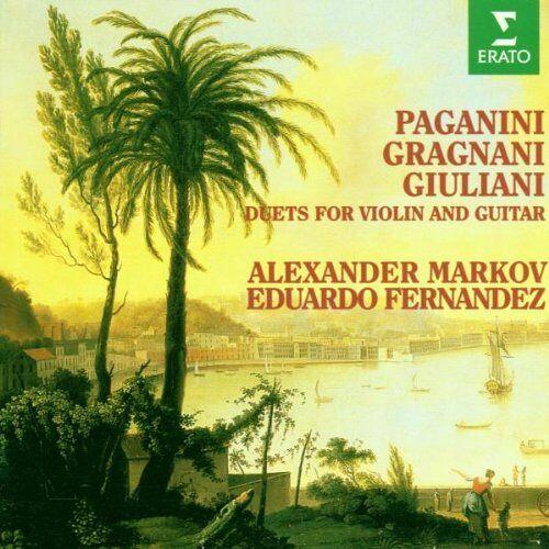 Markov - Duette für Violine und Gitarre von Paganini, Gragnani und Giuliani - Preis vom 17.01.2021 06:05:38 h