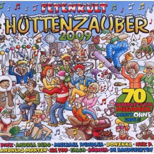 Various - Hüttenzauber 2009 - Preis vom 14.01.2021 05:56:14 h