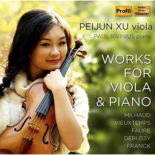 Peijun Xu (Viola) - Werke für Viola und Klavier - Preis vom 10.04.2021 04:53:14 h