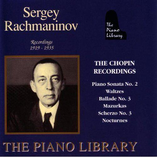 Sergej Rachmaninoff - The Piano Library - Sergej Rachmaninoff (Aufnahmen 1919-1935) - Preis vom 21.04.2021 04:48:01 h