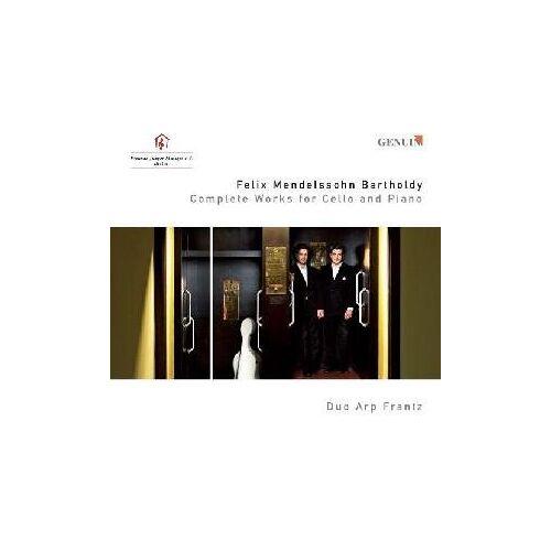 Duo Arp Frantz - Mendelssohn: Werke für Cello und Klavier (Ga) - Preis vom 09.05.2021 04:52:39 h