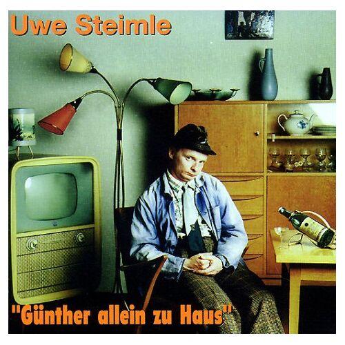 Uwe Steimle - Günther allein zu Haus, 1 CD-Audio - Preis vom 20.10.2020 04:55:35 h