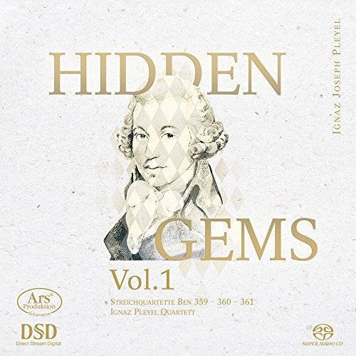Ignaz Pleyel Quartett - Pleyel: Hidden Gems Vol.1 - Streichquartette Ben 359-361 - Preis vom 19.10.2020 04:51:53 h