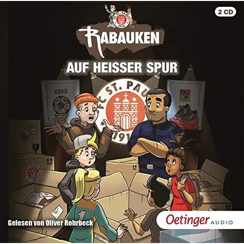 Tina Blase - FC St. Pauli Rabauken: Auf heißer Spur (2CD) - Preis vom 21.10.2020 04:49:09 h