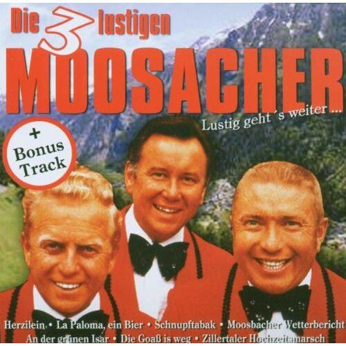 Die 3 lustigen Moosacher - Lustig Geht'S Weiter... - Preis vom 18.06.2019 04:46:30 h