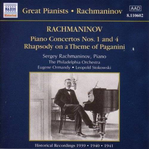 S. Rachmaninoff - Great Pianists Edition - Sergej Rachmaninoff (Rachmaninoff spielt Rachmaninoff: Aufnahmen 1939-1941) - Preis vom 10.05.2021 04:48:42 h