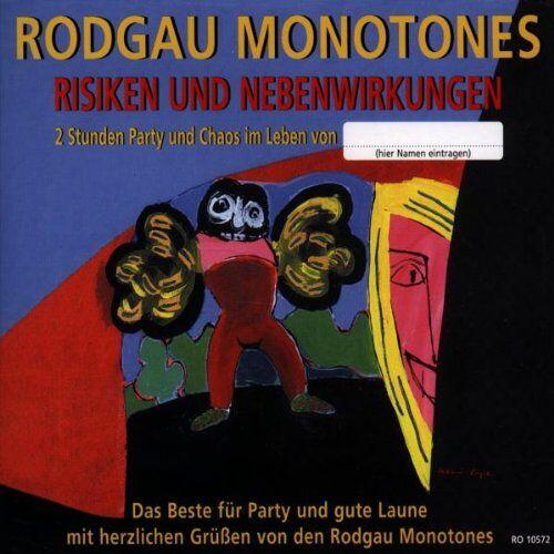 Rodgau Monotones - Risiken und Nebenwirkungen - Preis vom 12.05.2021 04:50:50 h