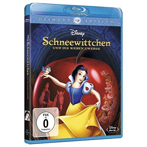 - Schneewittchen und die sieben Zwerge - Diamond Edition [Blu-ray] - Preis vom 15.04.2021 04:51:42 h