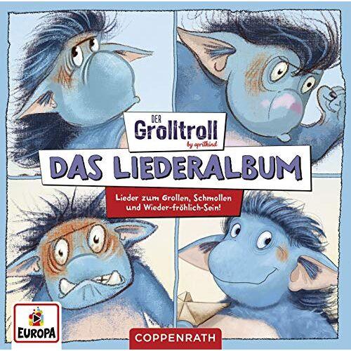 Der Grolltroll - Das Liederalbum (Lieder zum Grollen, Schmollen und Wieder-fröhlich-Sein) - Preis vom 13.05.2021 04:51:36 h