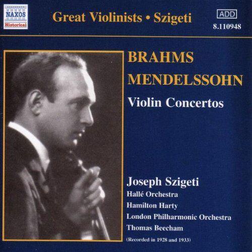 Joseph Szigeti - Violinkonzerte - Preis vom 18.04.2021 04:52:10 h