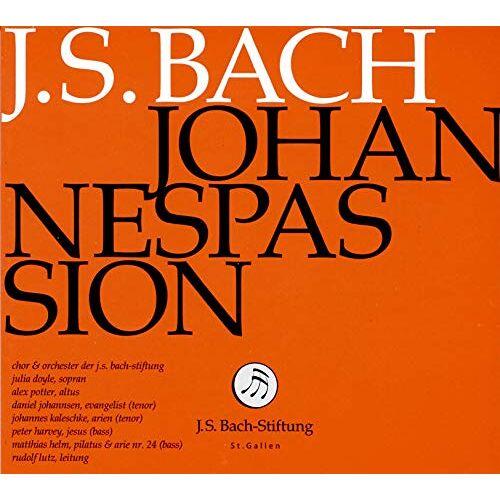 J.S.Bach-Stiftung - J.S. Bach: Johannespassion - Preis vom 05.09.2020 04:49:05 h