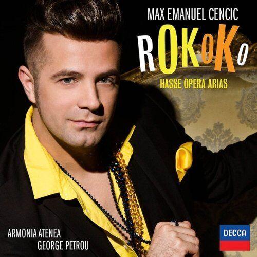 Cencic - Rokoko: Hasse Opera Arias - Preis vom 14.01.2021 05:56:14 h
