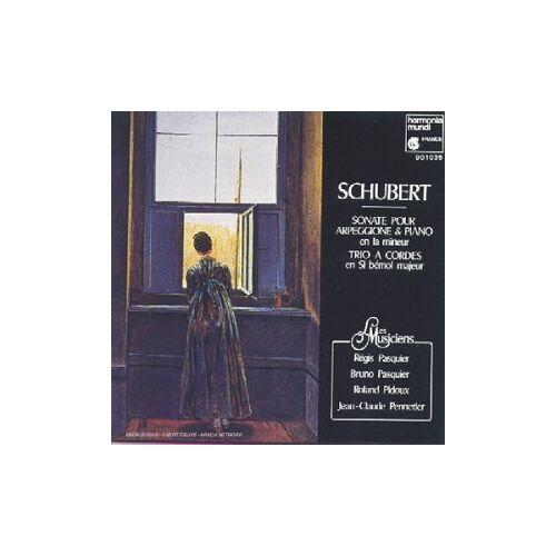 Les Musiciens - Sonate Pour Arpeggione und Piano - Preis vom 21.10.2020 04:49:09 h
