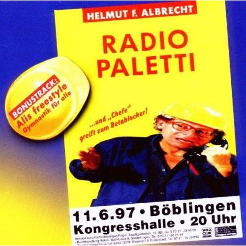 Albrecht, Helmut F. - Radio Paletti - Preis vom 26.01.2020 05:58:29 h