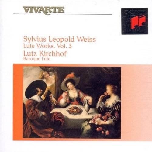 Lutz Kirchhof - Sylvius Leopold Weiss: Lute Works (Lautenwerke) - Vol. 3 - Preis vom 20.10.2020 04:55:35 h