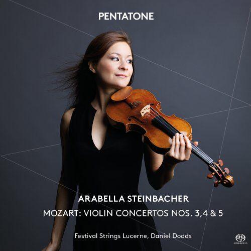 Arabella Steinbacher - Violin Concertos Nos. 3, 4 & 5 - Preis vom 07.03.2021 06:00:26 h