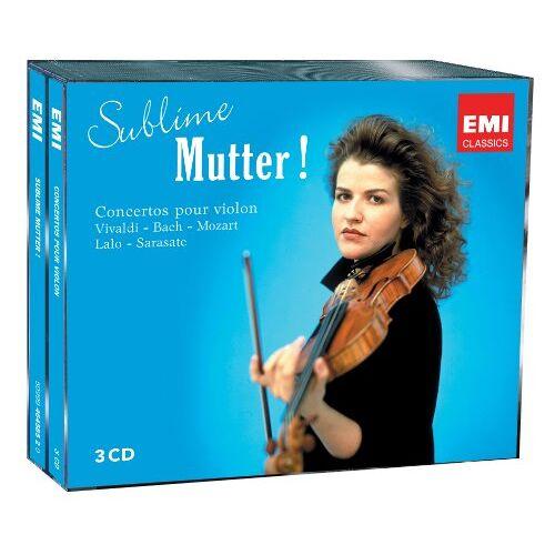 Anne-Sophie Mutter - Viva:Sublime Mutter! - Preis vom 24.01.2021 06:07:55 h