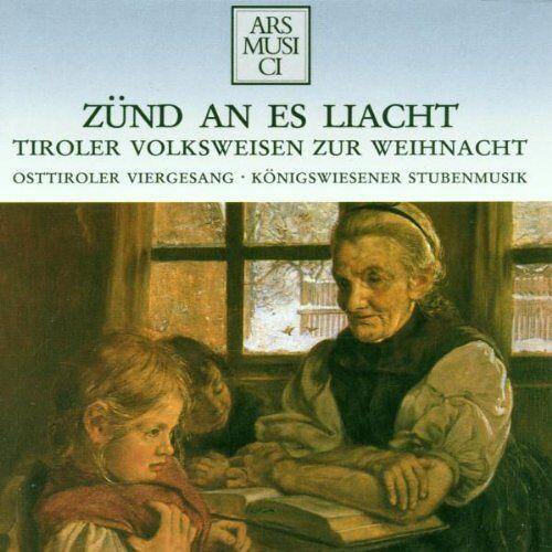 Osttiroler Viergesang - Zünd An Es Liacht - Preis vom 24.02.2021 06:00:20 h