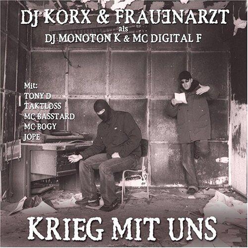 DJ Korx & Frauenarzt - Krieg mit Uns - Preis vom 22.01.2021 05:57:24 h