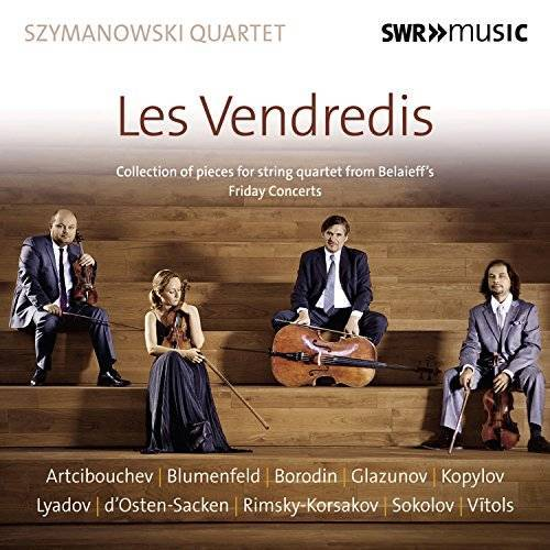 Szymanowski Quartet - Szymanowski Quartet: Les Vendredis - Preis vom 07.05.2021 04:52:30 h
