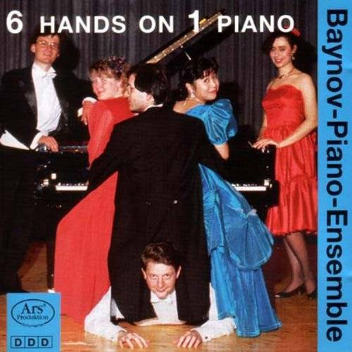 Baynov-Piano-Ensemble - 6 Hands on 1 Piano Vol.1 - Preis vom 05.09.2020 04:49:05 h