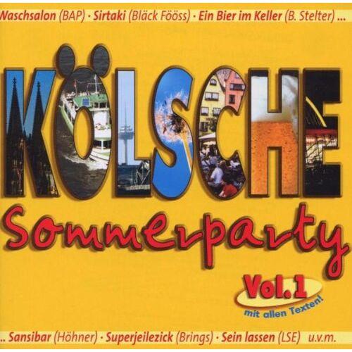 Various - Koelsche Sommerparty-Vol.1 - Preis vom 28.01.2020 05:57:10 h
