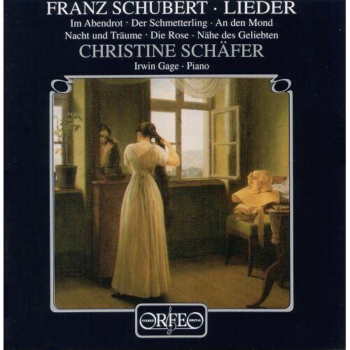 Christine Schäfer - Schubert Lieder Schäfer - Preis vom 15.04.2021 04:51:42 h