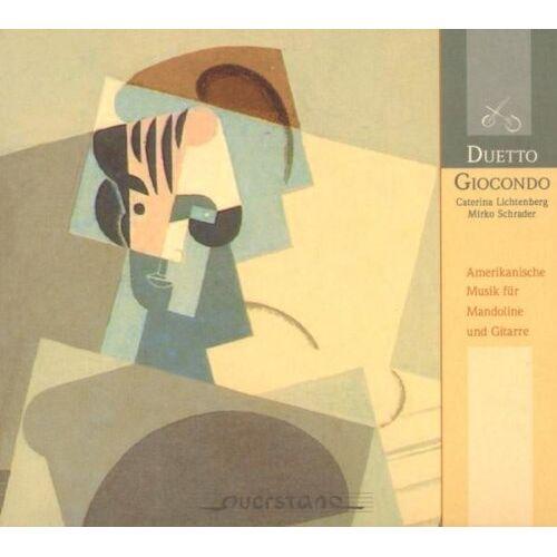 Duetto Giocondo - Amerikanische Musik für Mandoline und Gitarre - Preis vom 05.05.2021 04:54:13 h