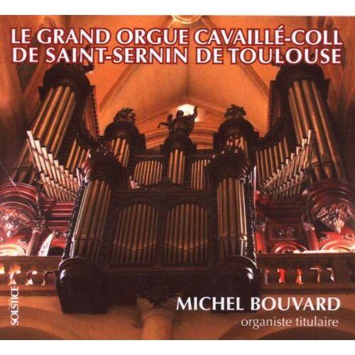 Michel Bouvard - Orgel St.Sernin,Toulouse - Preis vom 04.05.2021 04:55:49 h