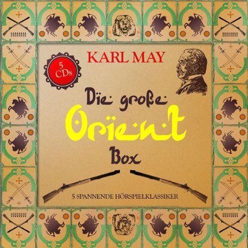Karl May - Die Grosse Orient Box (5 Hörspielklassiker) - Preis vom 06.09.2020 04:54:28 h