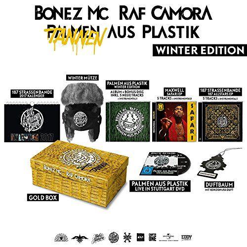 Bonez MC & RAF Camora - Palmen aus Plastik Winter Edt (Tannen aus Plastik) - Preis vom 16.01.2020 05:56:39 h