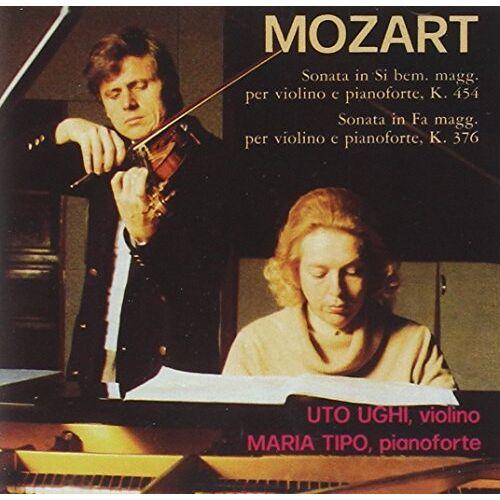 Uto Ughi - Mozart: Sonaten für Klavier und Violine KV 454+376 - Preis vom 28.02.2021 06:03:40 h