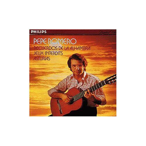 Pepe Romero - Spanische Gitarrenmusik - Preis vom 08.04.2021 04:50:19 h