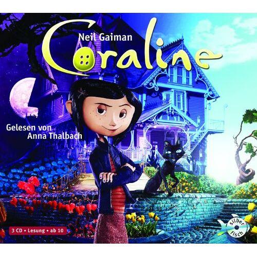 Neil Gaiman - Coraline: 3 CDs - Preis vom 07.05.2021 04:52:30 h