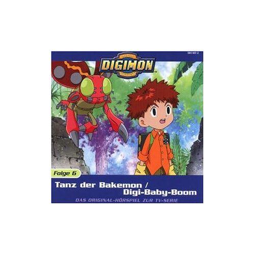 Digimon - Folge 6: Tanz der Bakemon / Digi-Baby-Boom - Preis vom 20.10.2020 04:55:35 h