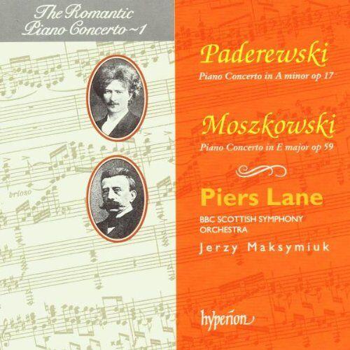 Lane - The Romantic Piano Concerto - Vol. 1 (Moszkowski / Paderewski) - Preis vom 18.04.2021 04:52:10 h
