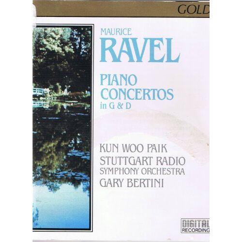 Paik, Kun Woo - Ravel: Piano Concertos in G&D - Preis vom 16.04.2021 04:54:32 h