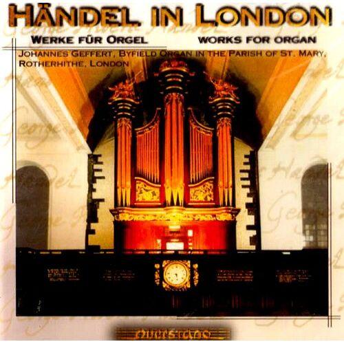 Johannes Geffert - Händel in London - Preis vom 24.02.2021 06:00:20 h