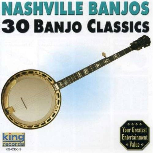 Nashville Banjos - 30 Banjo Classics - Preis vom 24.02.2021 06:00:20 h