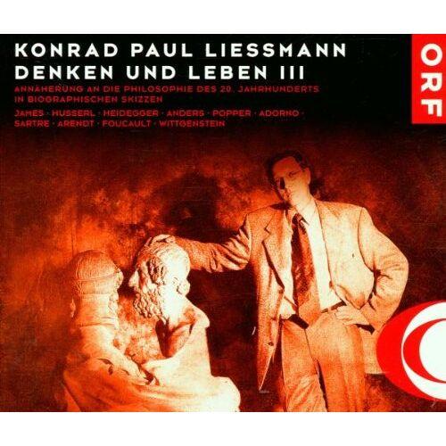 Liessmann, Konrad Paul - Denken und Leben Vol.3 - Preis vom 07.03.2021 06:00:26 h