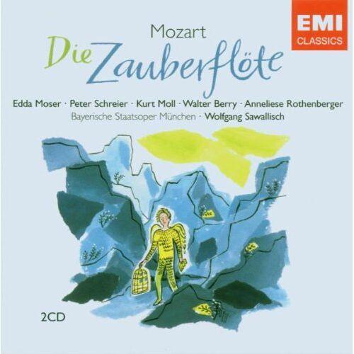 Edda Moser - Die Zauberflöte - Preis vom 18.10.2020 04:52:00 h