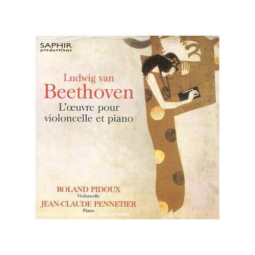 Roland Pidoux - Beethoven: Werke für Cello + Klavier - Preis vom 24.02.2021 06:00:20 h