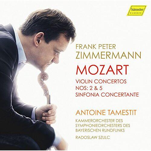 Zimmermann - Mozart: Violin Concertos - Preis vom 09.04.2021 04:50:04 h