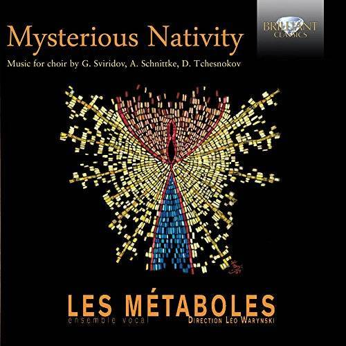 Les Metaboles-Ensemble Vocal - Mysterious Nativity - Preis vom 20.10.2020 04:55:35 h