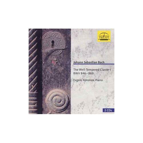Bach:Well Tempered Clavier I - Das Wohltemperierte Klavier, Teil 1 - Preis vom 05.09.2020 04:49:05 h