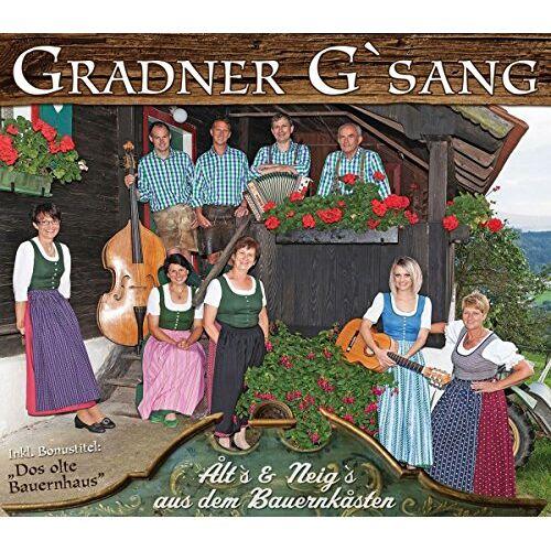 Gradner G'sang - Alt's & Neig's aus dem Bauernkasten - Preis vom 14.05.2021 04:51:20 h