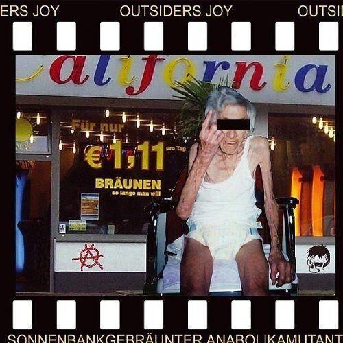 Outsiders Joy - Sonnenbankgebrunter Anabolikamutant - Preis vom 23.02.2021 06:05:19 h